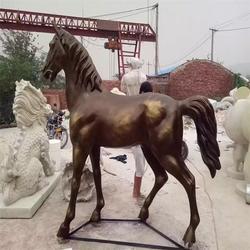 日喀則銅馬|兩米高行走銅馬鑄造|衛恒銅雕廠家(多圖)圖片