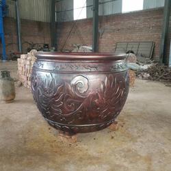 卫恒铜雕(在线咨询)_铜大缸_青铜大缸铸造厂图片