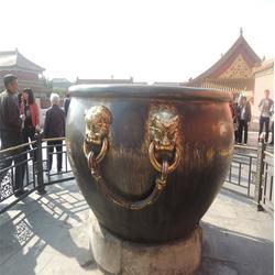 山东铜缸,卫恒铜雕(在线咨询),故宫鎏金铜缸厂家图片