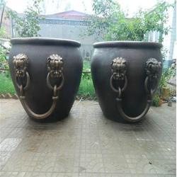 卫恒铜雕厂家(多图)_仿古铜大缸定制公司_都匀铜大缸图片