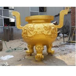 三沙铜香炉、哪里有做铜香炉的厂家、卫恒铜雕厂家(多图)图片
