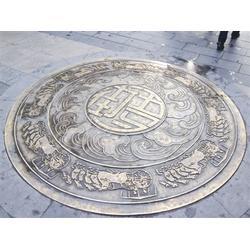 人物铸铜地雕加工制作、西青区铜地雕、卫恒铜雕厂家(查看)图片