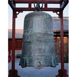 卫恒铜雕厂家(图)_喇叭口纯响铜钟铸造厂_莱芜铜钟图片