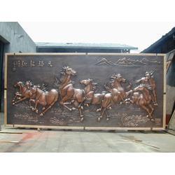 常德铜浮雕 玻璃钢仿铜浮雕壁画订做厂家 卫恒铜雕厂家图片