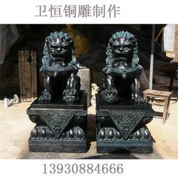 来图制造|铜狮子|故宫铜狮子图片