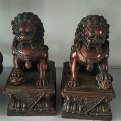 来图定做、铜狮子、大型铜狮子雕塑图片