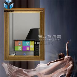 欧视显镜面电视智能触摸酒店镜面电视机图片