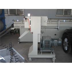 管材挤出机(图)、PS塑料型材生产设备、塑料型材生产设备图片