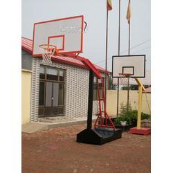 凹箱式篮球架制造厂家图片