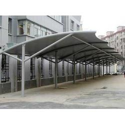 吴江车棚、不锈钢车棚制作、嘉祐建筑工程(优质商家)图片