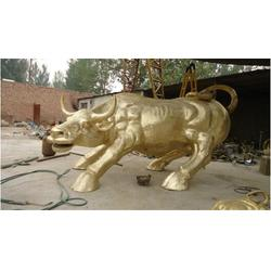 鼎豐銅工藝品廠-上海華爾街銅牛-華爾街銅牛鑄造圖片