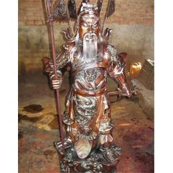 鼎丰铜雕,铜关公像,纯铜关公像图片