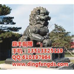 新疆铜雕狮子,鼎丰铜雕狮子,铜雕狮子厂家图片