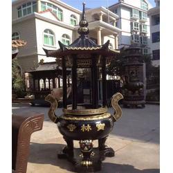 铜雕工艺品厂,湛江铜香炉,纯铜香炉图片