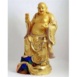 大型铜雕笑佛,济宁铜雕笑佛,鼎丰铜雕图片