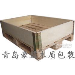 物流包装专用wooden box出口胶合板材质报关免检普通木箱图片