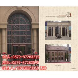 中式别墅铜门经销-别墅铜门-年年祥铜门设计新颖图片