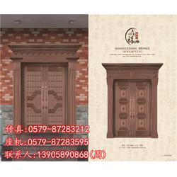 工程玻璃铜门厂家在哪-年年祥铜门款式多-北京玻璃铜门图片