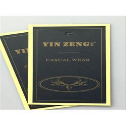 衣服吊牌订做、锦彩锋服装辅料厂、苏州衣服吊牌订做图片