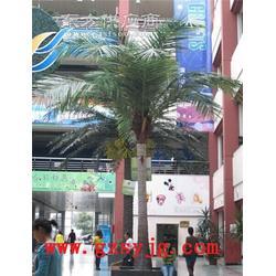 仿真棕榈树盆景图片