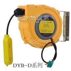 自动卷线器移动电缆卷盘自动收线器电缆卷轴工厂用电鼓图片