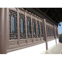 仿古门窗|庆霖佳冠|济南仿古门窗装修图片