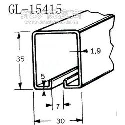 篷布车配件轨道滑轮 包胶滑轮滚轮配轨道GL-15415图片