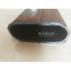 30成50椭圆型管现货/黒退微型平椭圆管厂图片