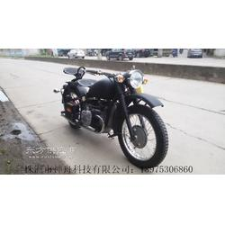 厂家直销长江款750摩托车 750单机 黑色图片