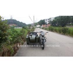 长江750边三轮摩托车德国灰客户定制图片