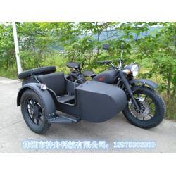 长江款750边三轮摩托车德国灰改整体钢圈图片