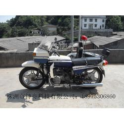 湘江750边三轮摩托车蓝白款单位定制图片