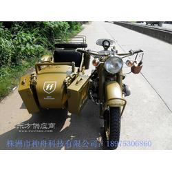 长江750边三轮摩托车土沙色图片