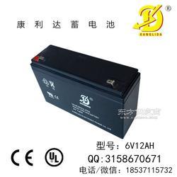 6V12AH玩具车电池 配电控制设备备用电源 厂家直接发货图片