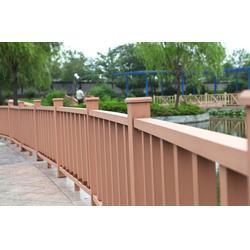 塑木栏杆安装图,徐州塑木栏杆,江苏星和瑞(查看)图片