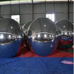 装饰气模、充气镜面球、镜面球图片