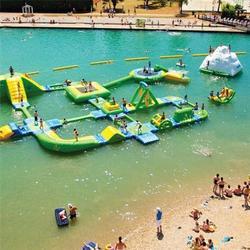 充气水上乐园-充气水上乐园竞技-乐飞洋(多图)图片