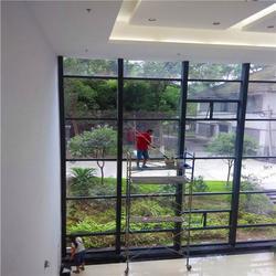 陈家坪玻璃幕墙清洗,永秀清洁,玻璃幕墙清洗报价图片