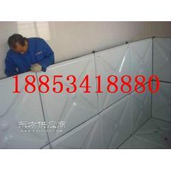 供应搪瓷钢板90吨水箱,明生水箱厂低价促销图片