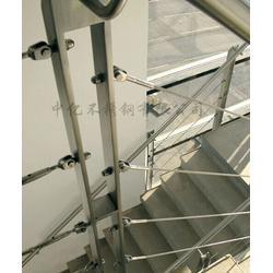 不锈钢立柱扶手定做,中亿不锈钢(在线咨询),不锈钢立柱图片