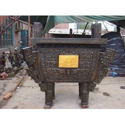 曲靖铜方鼎雕塑、铜方鼎雕塑、昌盛铜雕图片