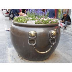 昌盛铜雕推荐 芜湖铜大缸 铜大缸图片