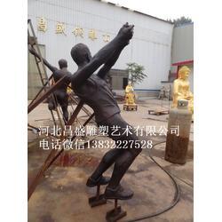 人物雕塑-昌盛铜雕-人物雕塑定做图片