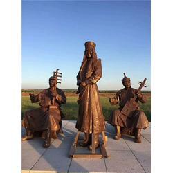 宣武房地产人物景观雕塑-昌盛铜雕(在线咨询)图片