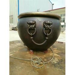 昌盛铜雕(多图)、公司纯铜故宫缸、纯铜故宫缸图片
