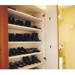 生态板鞋柜专业制做_鲁班饰家木制品厂_宿迁生态板鞋柜图片