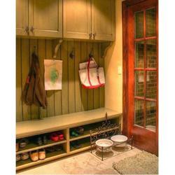 生态板鞋柜厂家、鲁班饰家木制品厂、滨湖区生态板鞋柜图片