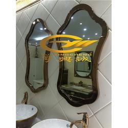 佛山弧形不锈钢镜框,不锈钢镜框,金属装饰制品图片
