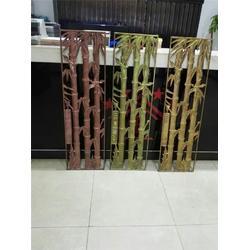 铝屏风|金属屏风隔断|玫瑰金铝屏风厂家图片