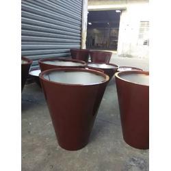 不锈钢花钵厂家、不锈钢花钵、金属花盆花箱(多图)图片